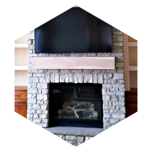 Ackerson Masonry, Image, Stone Fireplace Contractor, Cedar Valley Masonry Contractor